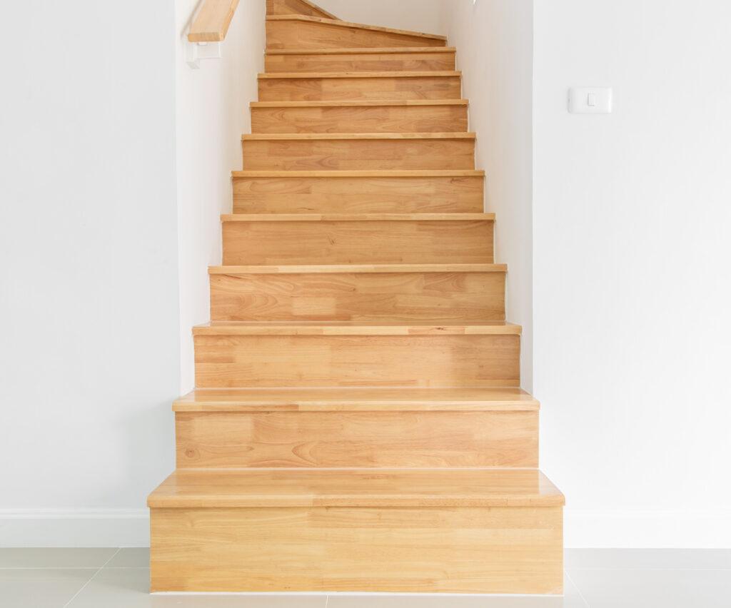 Onderdelen van een trap